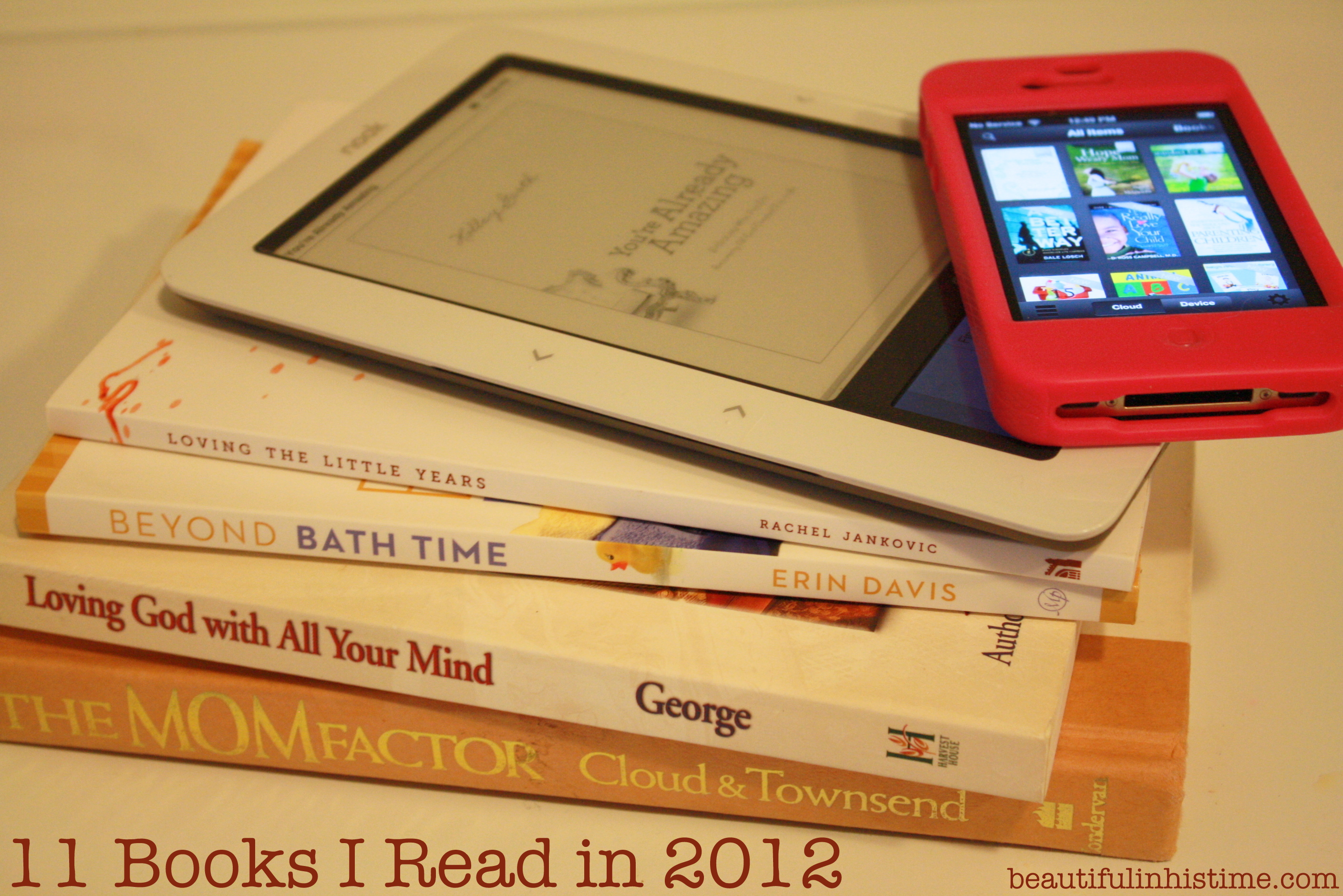 11 books I read in 2012