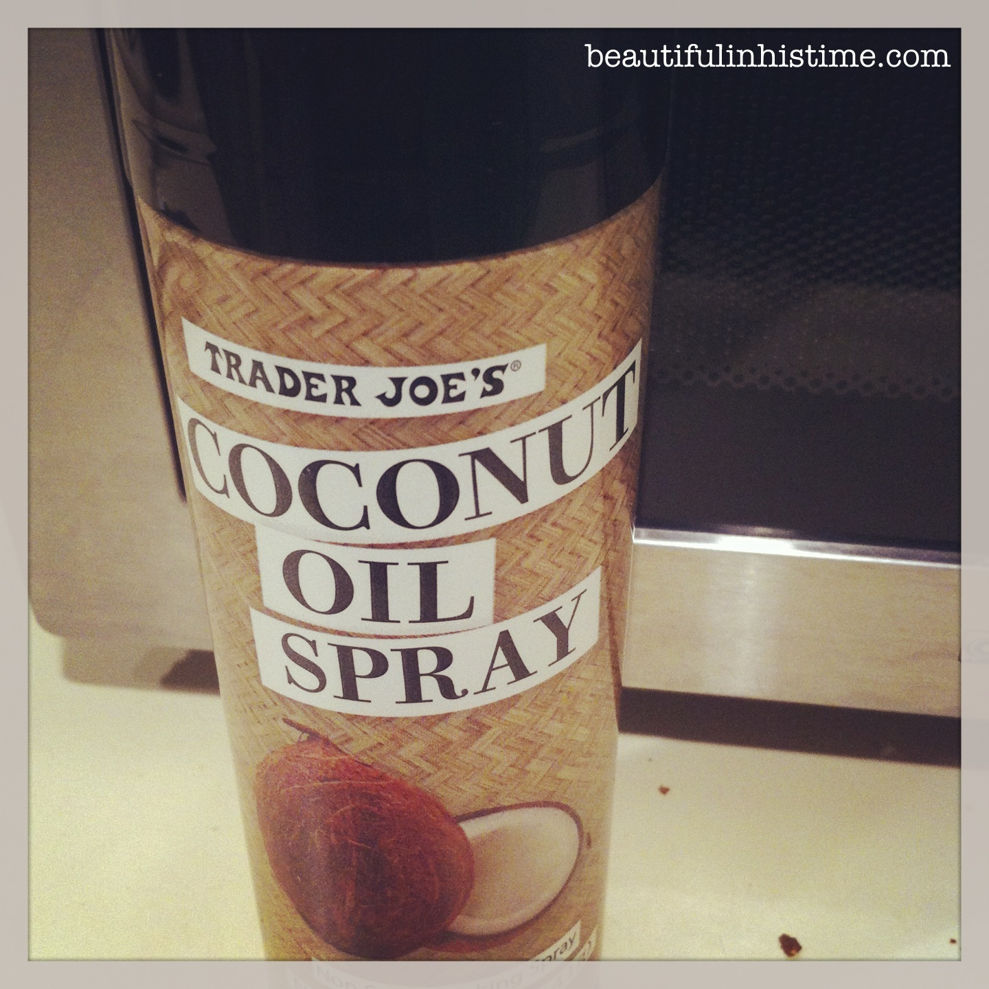 19 coconut oil spray