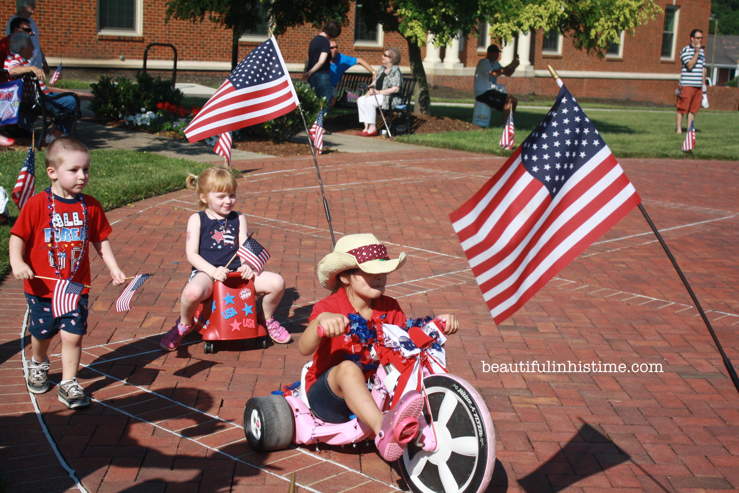Miss Mary\'s 4th of July Children\'s Parade ~ Kernersville, NC -