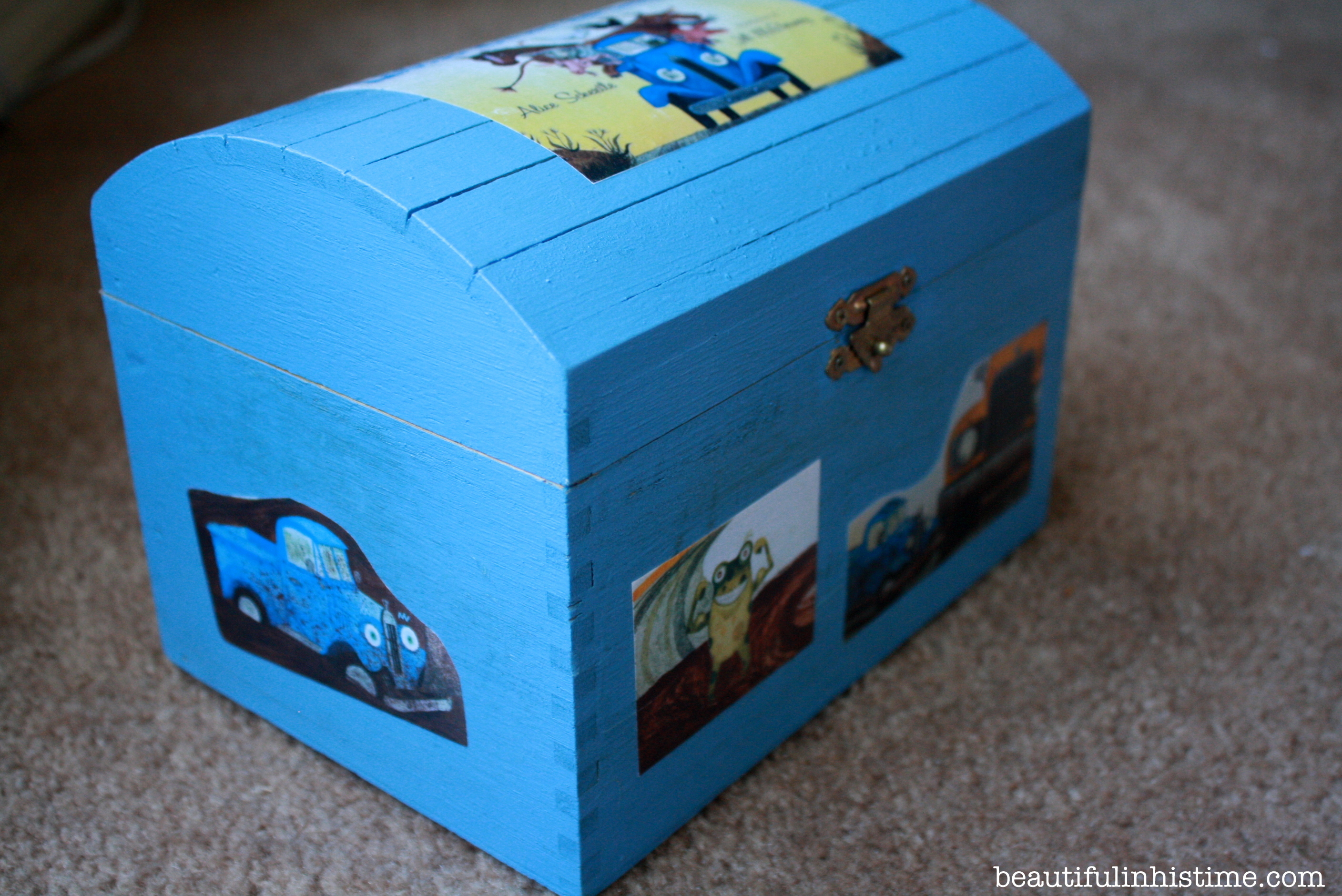 Little Blue Truck play box