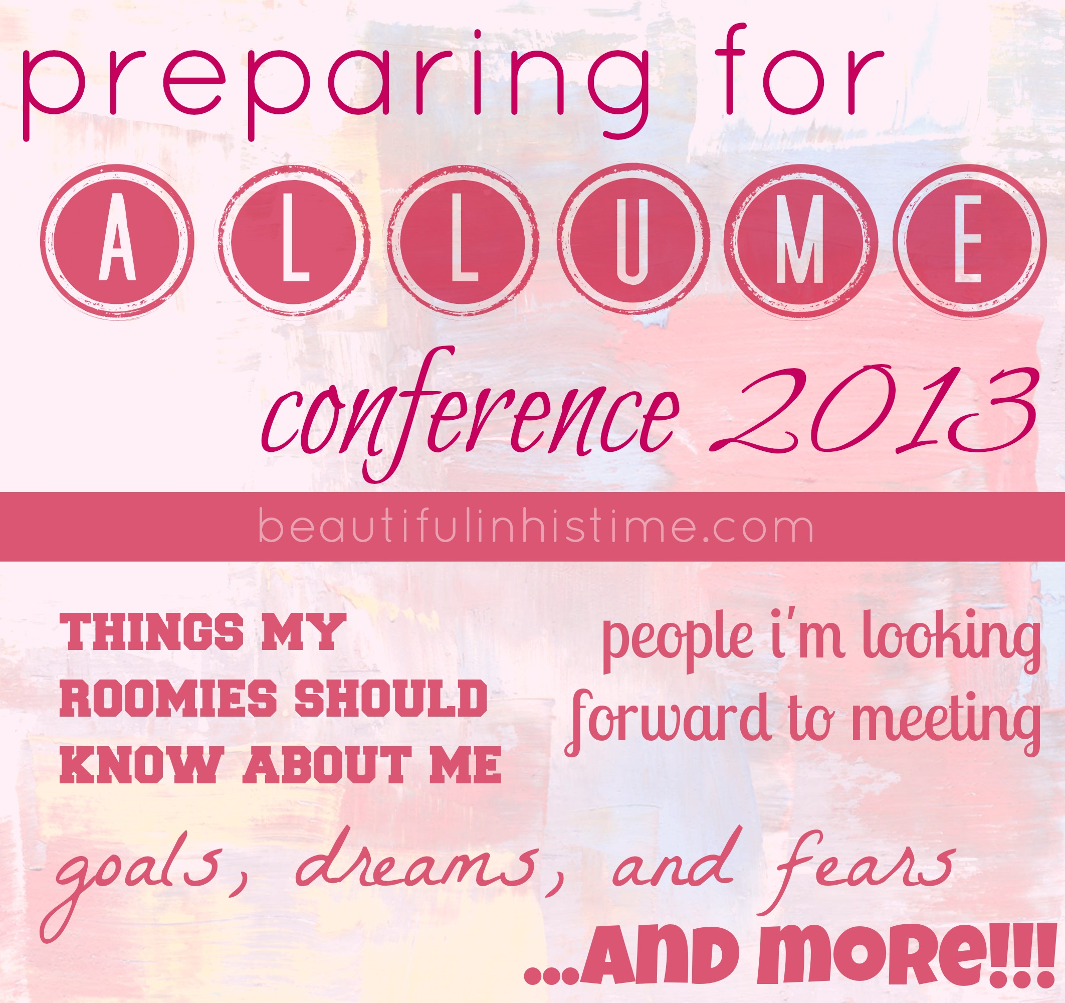 all the amazing people I want to meet at #Allume {in which I rip up my lists and relinquish control}