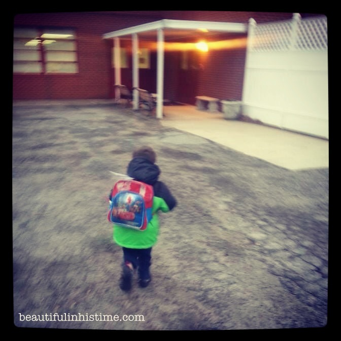 On #whitespace and sending my boy to preschool