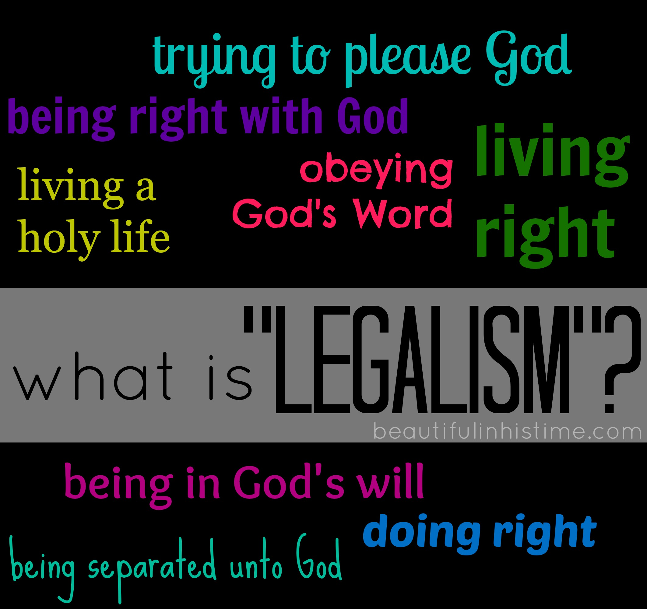 "what is ""legalism""?"