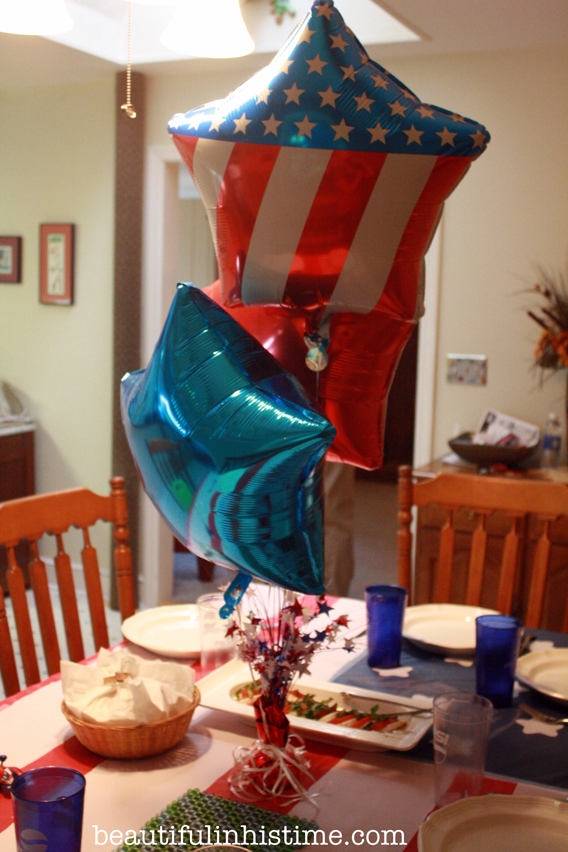 A Birthday Party for America! #birthday #america #4thofjuly #independenceday #party #birthdayparty #balloons