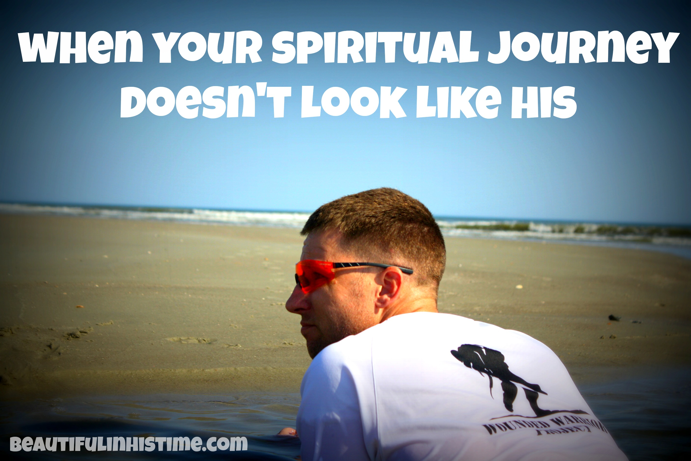 when your spiritual journey doesn't look like his {the wilderness between #legalism and #grace part 20 @beautifuliinhistime.com}