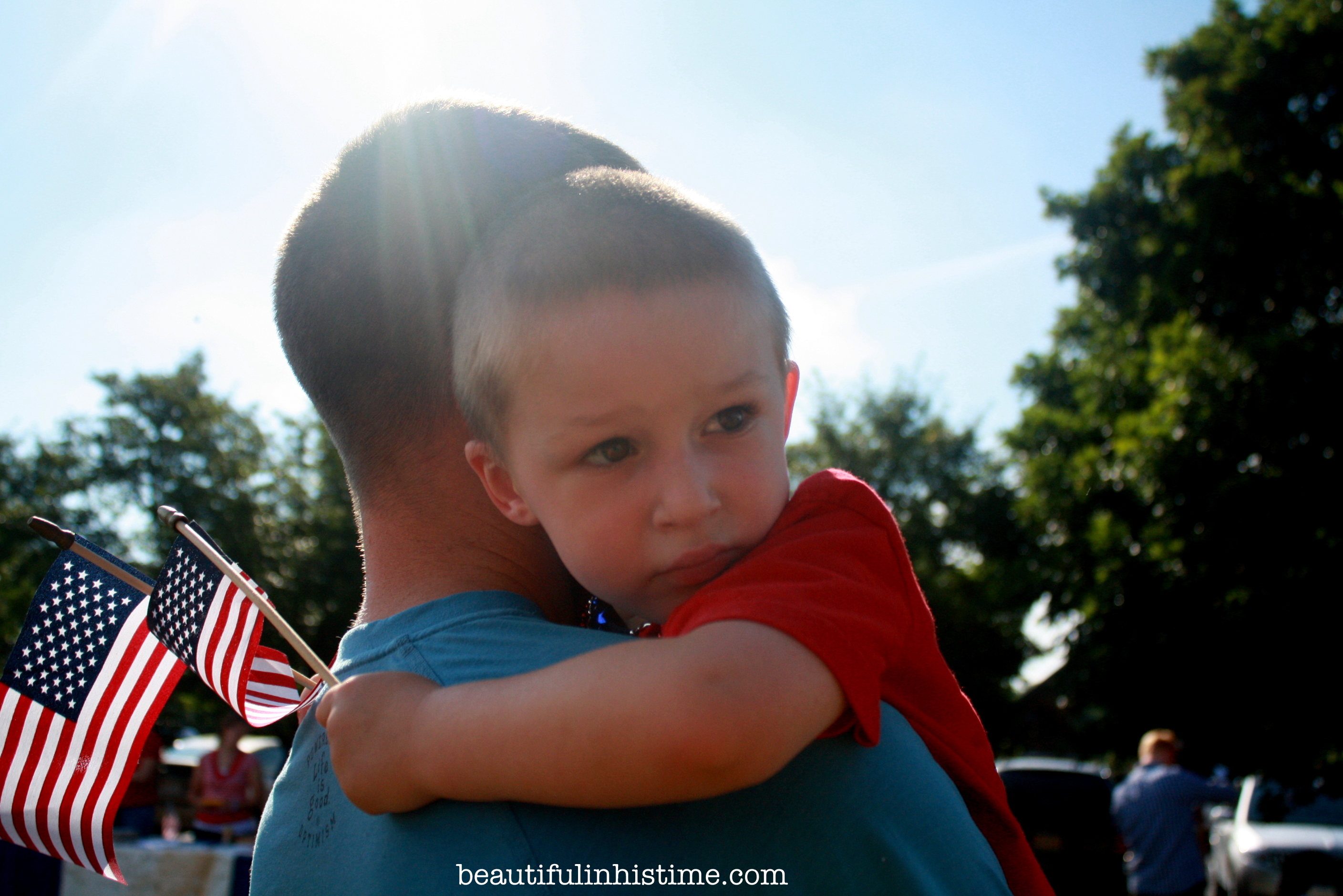 Patriotic Preschool Parade in Small-town North Carolina #patriotic #preschool #parade #4thofjuly #independenceday #Northcarolina
